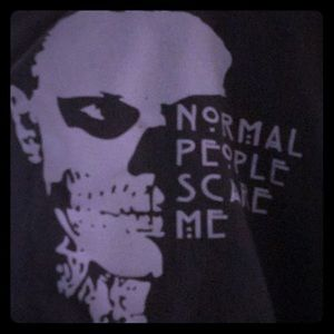 AHS hoodie normal people scare me Tate grey